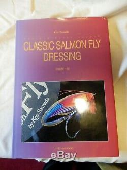 Classic Salmon Fly Dressing Ken Sawada Signed 1st Edition 1994 Tuchan Books A1