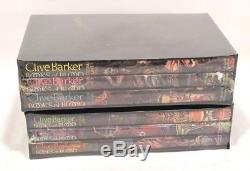 Clive Barker BOOKS OF BLOOD I-VI Signed / Limited Edition Still Sealed in Shrink