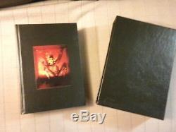 Clive Barker Books of Blood complete edition signed Stealth slip cased