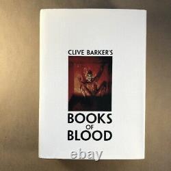 Clive Barker's Books of Blood I-VI (Hardcover in Jacket, Stealth Edition Signed)
