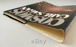 Cosmos-Carl Sagan-SIGNED! -INSCRIBED! -Book Club Edition-HC/DJ-1980-VERY RARE