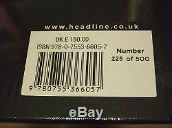 DAVID BECKHAM HAND SIGNED DELUXE LIMITED EDITION of 500 Hardback Book SEALED