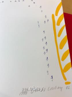 DAVID HOCKNEY 1982 Book Set + NUMBERED & SIGNED LIMITED EDITION LITHOGRAPH PRINT