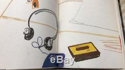 DAVID HOCKNEY SIGNED Sketch Book 1st Edition Set Slipcase Cover + Intro Book 80s