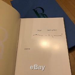 DAVID SYLVIAN Abandon/Hope Limited Edition Book RARE SIGNED