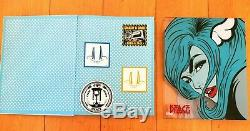 DFACE SIGNED BOOK + PRINT + PINS + STICKERS x/150 DFACE COLLECTOR EDITION