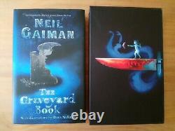 DUAL SIGNED LIMITED EDITION of THE GRAVEYARD BOOK 1ST ED. NEIL GAIMAN (STARDUST)