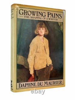 Daphne Du Maurier Growing Pains Signed First UK Edition 1977 1st Book