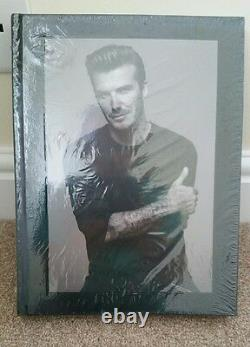 David Beckham Signed Deluxe Limited Edition 500 Book Sealed Man Utd football