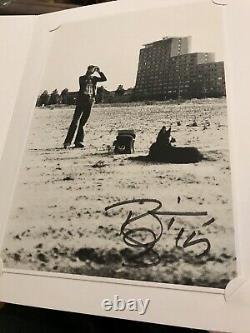 David Bowie Signed Autographed Black Is Portfolio Edition Book