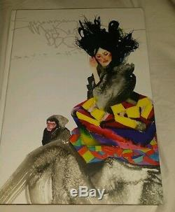 David Choe Book Snowman Monkey BBQ dvdasa Mangchi first edition