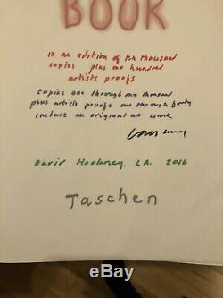 David Hockney A Bigger Book Taschen Art Edition Complete With Signed Ltd Print