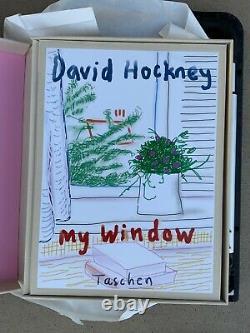 David Hockney My Window Art Taschen Print Book Edition SIGNED BOOK ONLY NIB