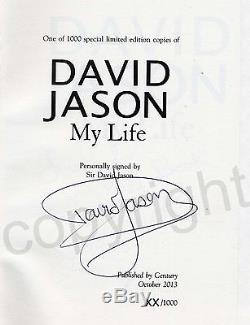 David Jason My Life Book Personally Signed Limited Edition Boxed Set with extras