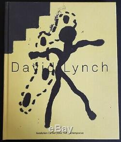 David Lynch Signed The Air Is On Fire Art Book Hc 1st Edition 2 Cd's 450 Pages