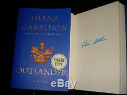 Diana Gabaldon signed Outlander 1st print 2015 Delacorte Edition hardcover book