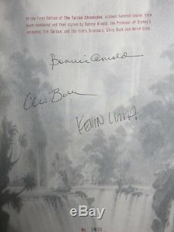 Disney's The Tarzan Chronicles Limited Edition Signed Collector's Book #800/1600