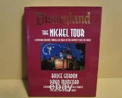 Disneyland The Nickel Tour Bruce Gordon & David Mumford signed 1st Edition