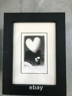 Doug Hyde Yours Truly limited edition framed prints x 6 with signed book, CoA