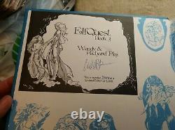 ElfQuest Book 3 Signed/Numbered #3804 of 4000 Limited Edition Hardcover HC