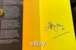 Elton John Signed Book Me Autobiography London Event Only 300 Copies 1st Edition