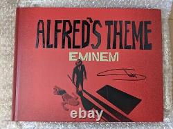 Eminem Alfreds Theme Lyric Book Signed Autographed Limited Edition 99 Music New