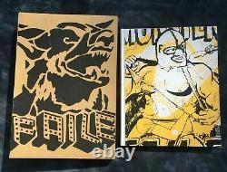 Faile Book Prints & Originals Screened Cover RARE Edition Signed obey kaws