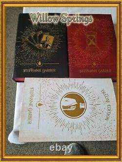 Fairyloot Special Edition Caraval Books Includes All 3 Books Plus Free