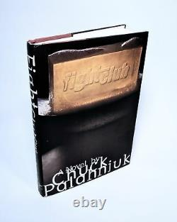 Fight Club SIGNED by Chuck Palahniuk 1996 1st Edition/1st Printing F/F Book