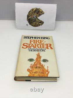 Fire Starter Stephen King Book Club Edition Signed
