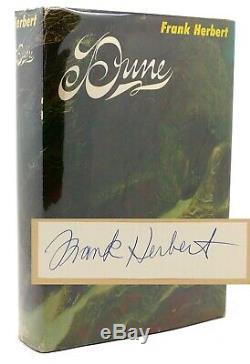 Frank Herbert DUNE Signed Book Club Edition