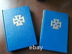 GEN ADOLF GALLAND lot 2 hand signed books, LUXURY & Limited Edition. Superb