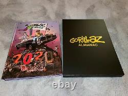 GORILLAZ Almanac Deluxe Limited Edition 2020 Book + CD x/6666 SOLD OUT