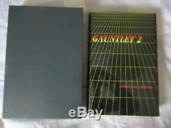 Gauntlet 2, Stephen King Signed Book, Slipcased Limited Edition, Andrew Vachss