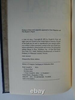 (Gerald Ford) Signed A TIME TO HEAL Book Limited Edition Slipcase /250