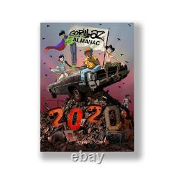 Gorillaz Almanac 2020 Deluxe Limited Edition Signed Sticker Sheet Book 1/1 CD