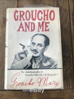 Groucho and Me The Autobiography of Groucho Marx book Signed First Edition