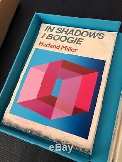 Harland Miller In Shadows I Boogie Print And Book Signed Edition Of 100