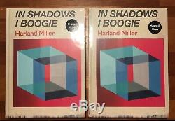 Harland Miller In Shadows I Boogie SIGNED BOOK EDITION SEALED 2 Books Signed
