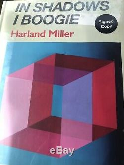 Harland Miller In Shadows I Boogie SIGNED BOOK EDITION SEALED MINT KAWS BANKSY