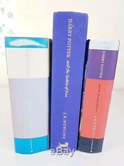 Harry Potter Complete UK First Editions Original SIGN Book Set VGC (SUPER RARE)