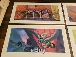 Harry Potter Limited Edition Deluxe Book Cover Art Series Set Mary GrandPre