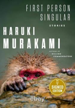 Haruki Murakami SIGNED BOOK First Person Singular 1ST EDITION Hardcover PREORDER