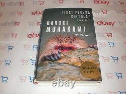 Haruki Murakami Signed First Person Singular 1st Edition Hc Book Autograph Coa B