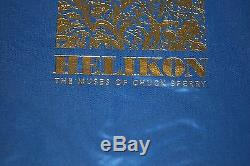 Helikon, The Muses of CHUCK SPERRY Signed & #/500 Gold 1st Edition Art Book