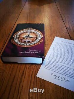 His Dark Materials Philip Pullman FIRST EDITION Trilogy Hardback books HB signed