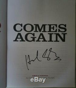 Howard Stern Signed Rare Autograph Comes Again 1st Printing 1st Edition Book