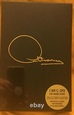 I AM C3PO ANTHONY DANIELS SIGNED Limited Edition (STAR WARS) BOOK SEALED STILL