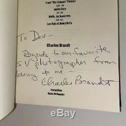 I Heard You Paint Houses The Irishman Charles Brandt Signed First Edition Book