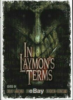 In Laymon's Terms Cemetery Dance signed limited edition with two bonus books
